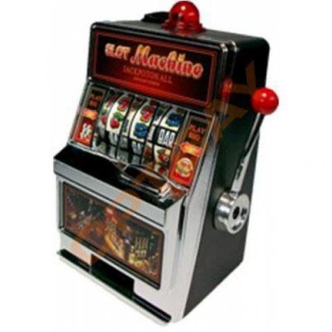 Копилка игровой автомат однорукий бандит купить
